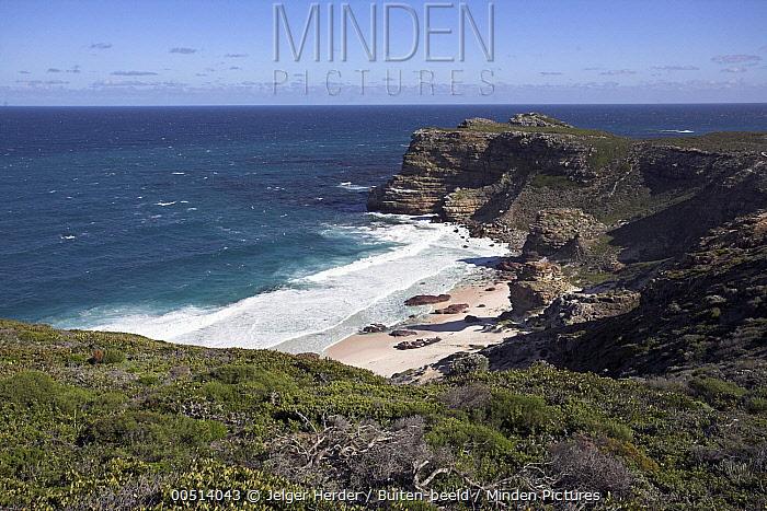 Cliffs, Cape of Good Hope, South Africa  -  Jelger Herder/ Buiten-beeld