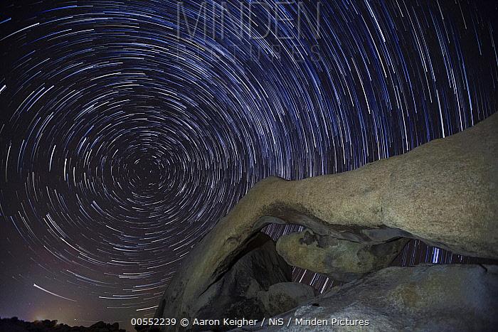 Arch Rock at night, Joshua Tree National Park, California