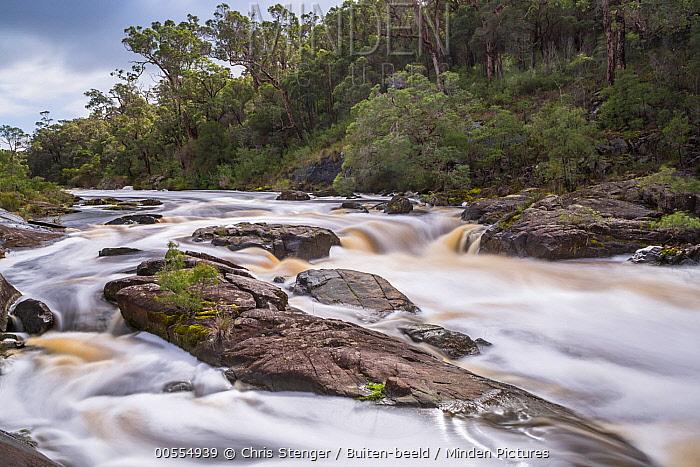 Rapids, Frankland River, Walpole Nornaluip National Park, Western Australia