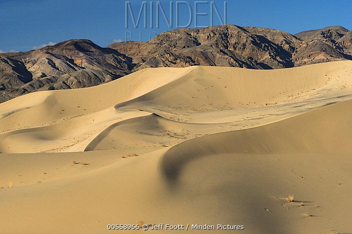 Eureka Dunes and Last Chance Range, Death Valley National Park, California