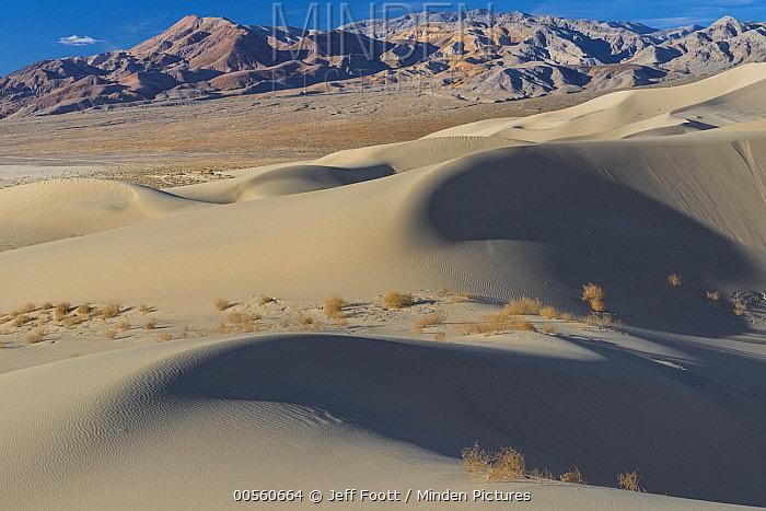 Sand dunes, Eureka Dunes, Last Chance Range, Death Valley National Park, California