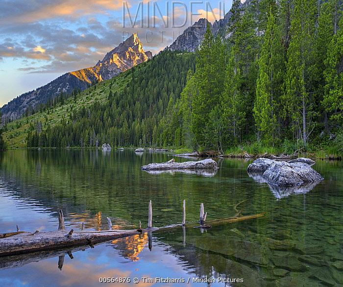 String Lake and the Grand Tetons, Grand Teton National Park, Wyoming