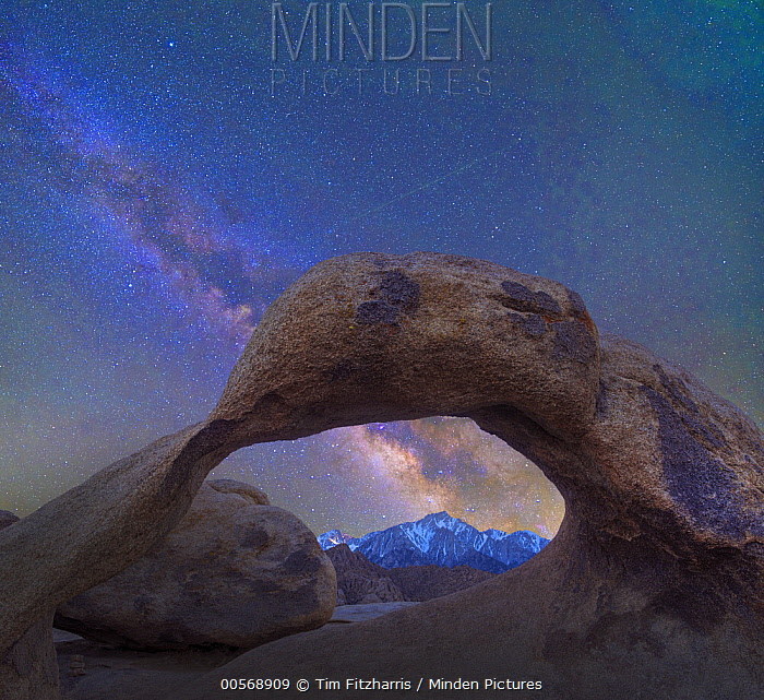 Arch and Milky Way, Alabama Hills, Sierra Nevada, California
