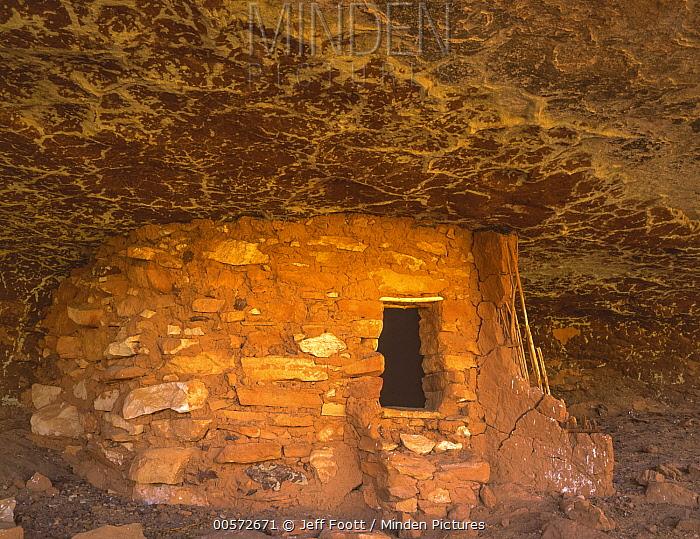 Ruin in Grand Gulch, Cedar Mesa, Bears Ears National Monument, Utah