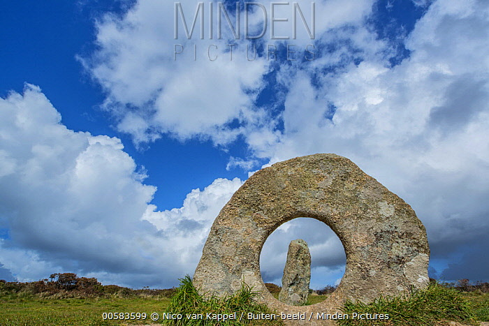 Man made rock formations, Cornwall, England, United Kingdom