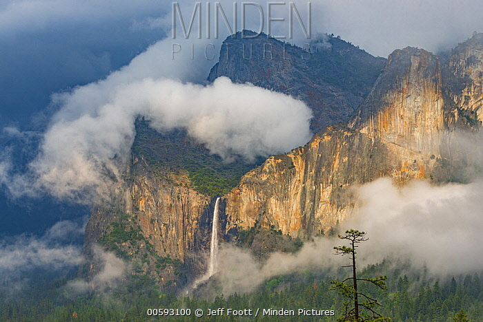 Bridal Veil Falls, Yosemite National Park, California