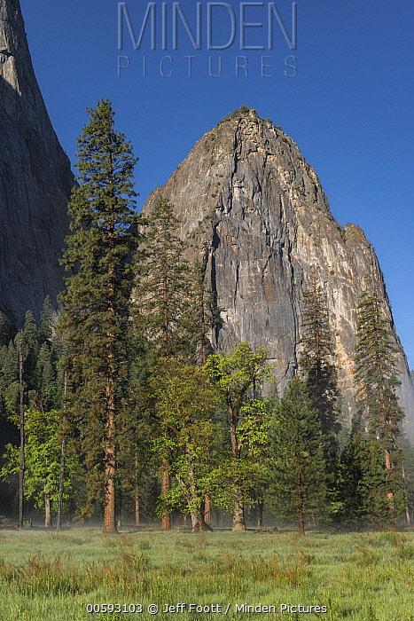 Lower Cathedral Rock, Yosemite National Park, California