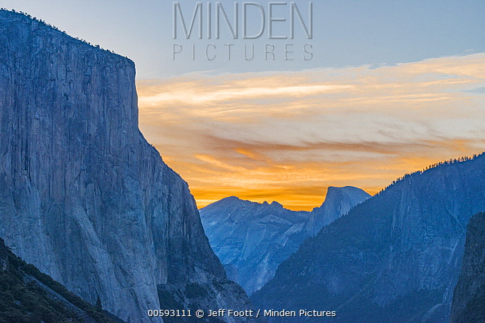 El Capitan and Half Dome, Yosemite National Park, California