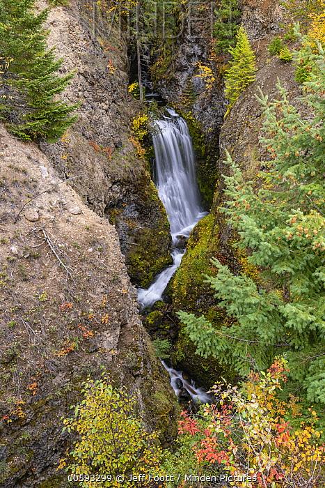Third Canyon Falls, Wells Gray Provincial Park, British Columbia, Canada