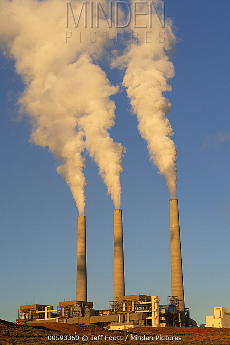 Coal power plant, Page, Arizona