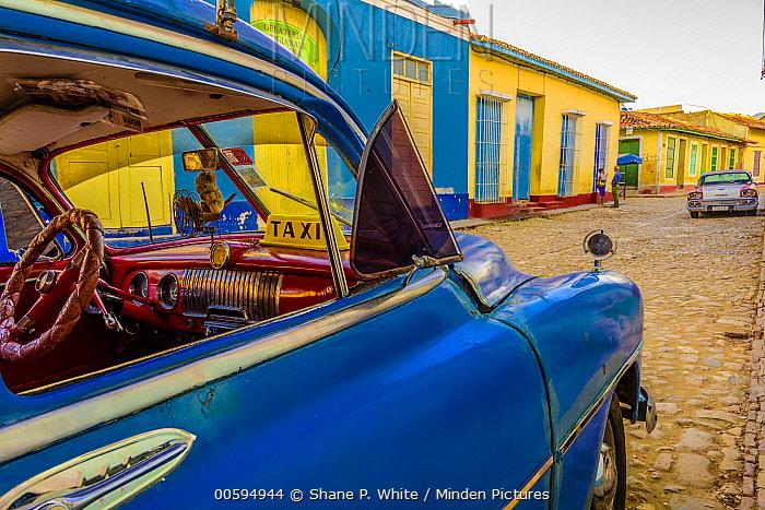 Vintage car, Trinidad and Tobago, Caribbean