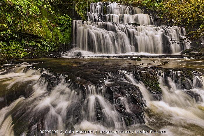 Purakaunui Falls, Catlins, New Zealand