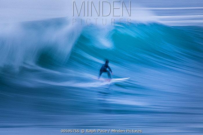 Surfer, Pacific Grove, California