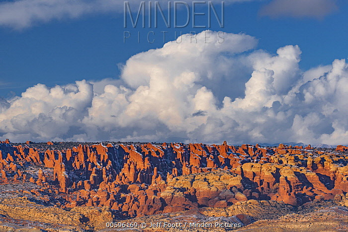 Rock formations, Arches National Park, Utah