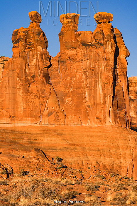 Three Gossips formation, Arches National Park, Utah