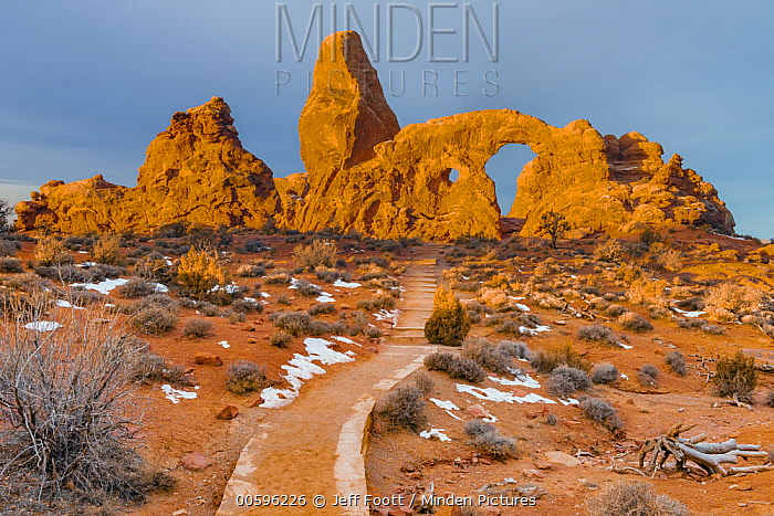 Trail to Turret Arch, Arches National Park, Utah