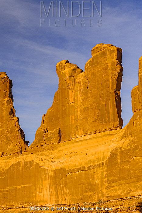 Park Avenue view, Arches National Park, Utah