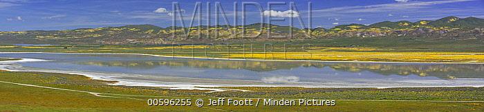 Soda Lake, Carrizo Plain National Monument, California