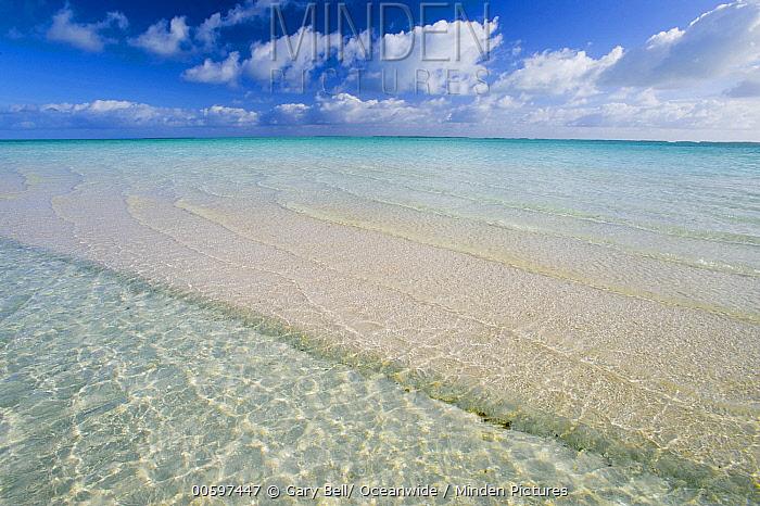 Tropical beach, Keeling Islands, Australia