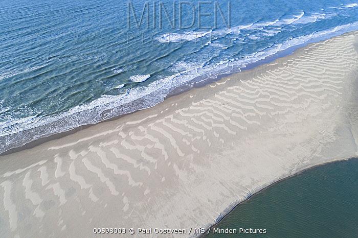 Beach, Slufter Valley, Texel, Noord-Holland, Netherlands