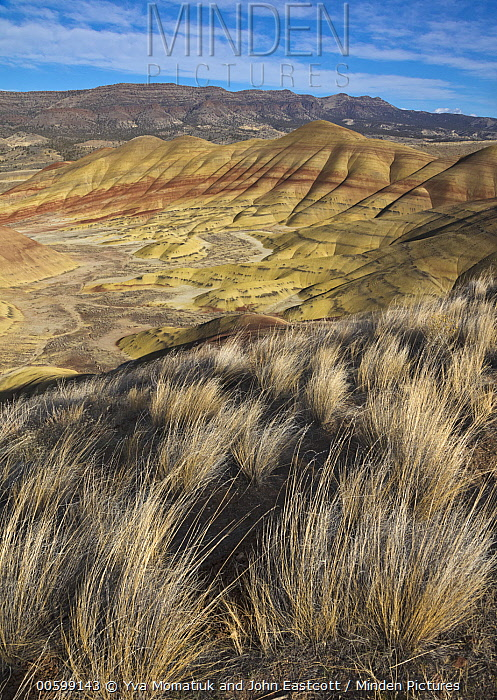 Painted Hills, John Day Fossil Beds National Monument, Oregon