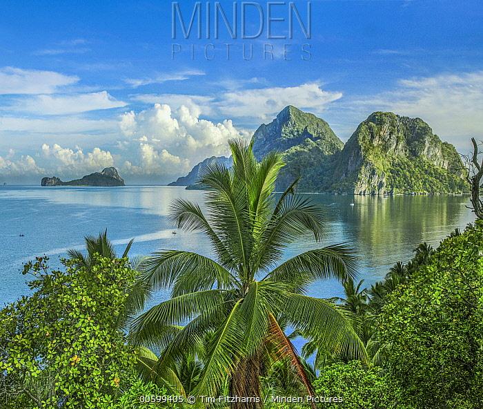 Coast and islands, Palawan, Philippines