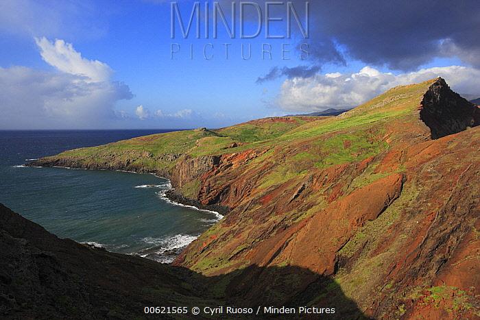Coastline, Ponta de Sao Lourenco Nature Reserve, Madeira  -  Cyril Ruoso