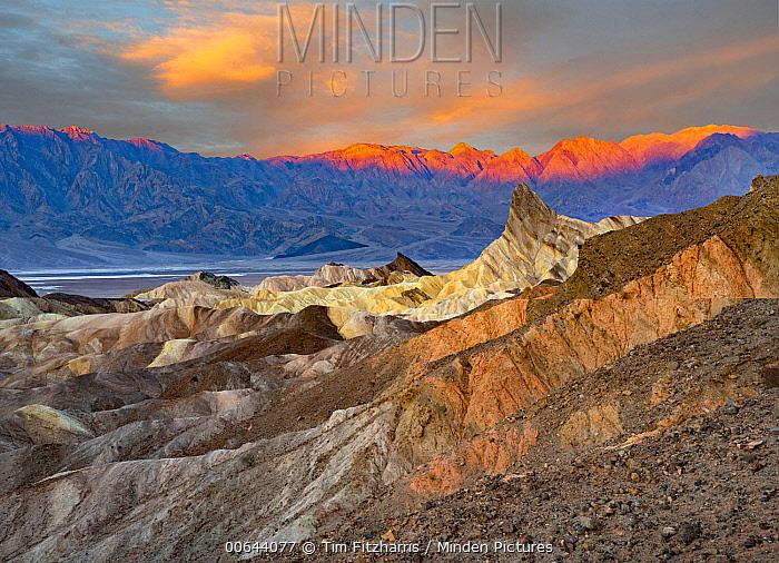 Panamint Range, Zabriskie Point, Death Valley National Park, California