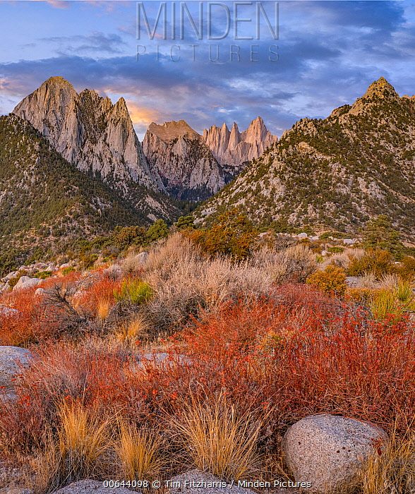 Mount Whitney, Inyo National Forest, Sierra Nevada, California