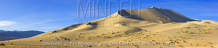 Sand dunes, Eureka Dunes, Death Valley National Park, California