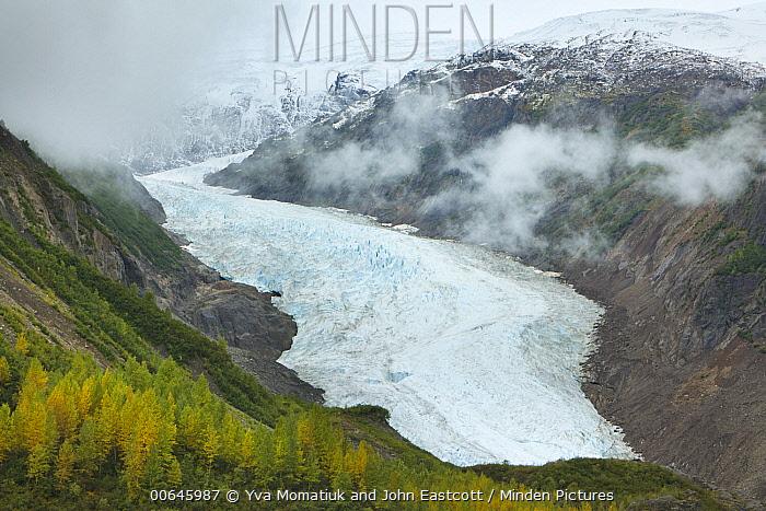 Bear Glacier, Crooked River Provincial Park, British Columbia, Canada