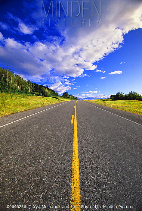 Highway, Alaska Highway, British Columbia, Canada