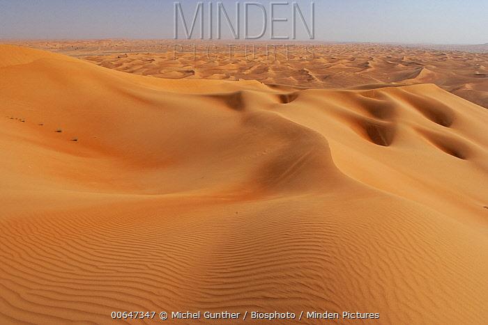 Sand dunes, Rub al Khali, United Arab Emirates