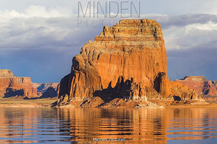 Gregory Butte, Lake Powell, Glen Canyon National Recreation Area, Utah