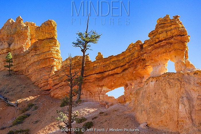 Rock arches, Water Canyon, Bryce Canyon National Park, Utah