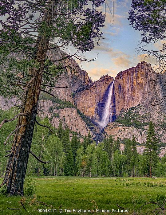 Yosemite Falls at Cook's Meadow, Yosemite National Park, California