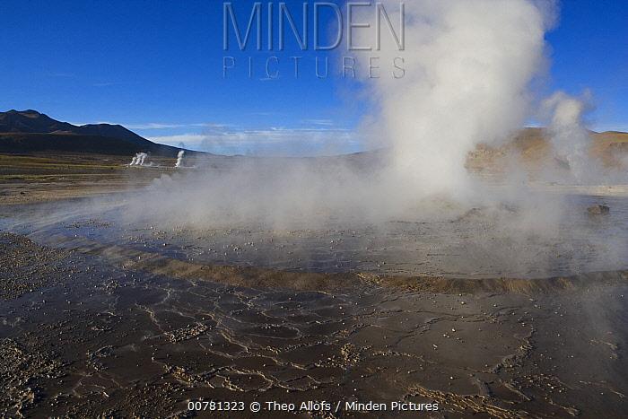 El Tatio Geyser Field at 4,200 meters above mean sea level, Argentina  -  Theo Allofs