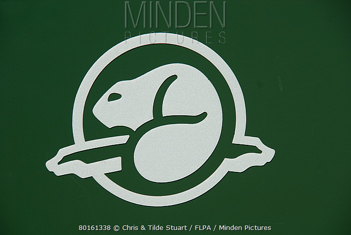 Minden Pictures Stock Photos Beaver Logo Of Parks Canada