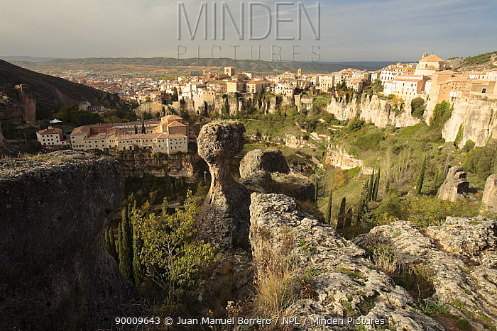 Cuenca city, Spain  -  Juan Manuel Borrero/ npl