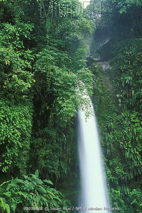 La Paz waterfall, Costa Rica  -  Jouan & Rius/ npl
