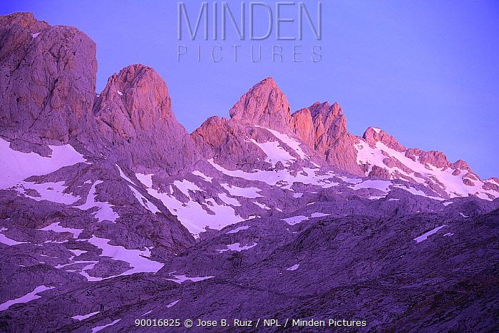 Mountains, Picos de Europa, Asturias, Spain  -  Jose B. Ruiz/ npl