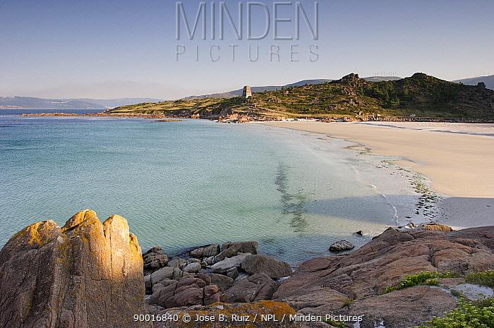 Beach at O pindo, Costa da Morte, Galicia, Spain  -  Jose B. Ruiz/ npl