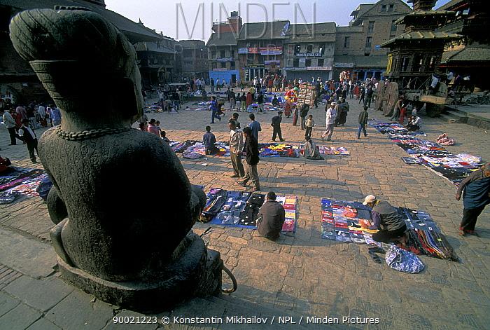 City square, Bhaktapur, Nepal  -  Konstantin Mikhailov/ npl