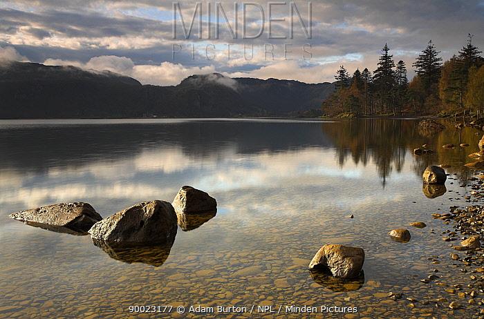 Morning at Derwent Water, Lake District, Cumbria, England  -  Adam Burton/ npl