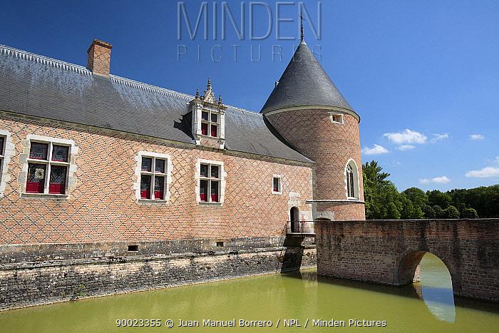 Castle of Chamerolles Loire Valley France  -  Juan Manuel Borrero/ npl