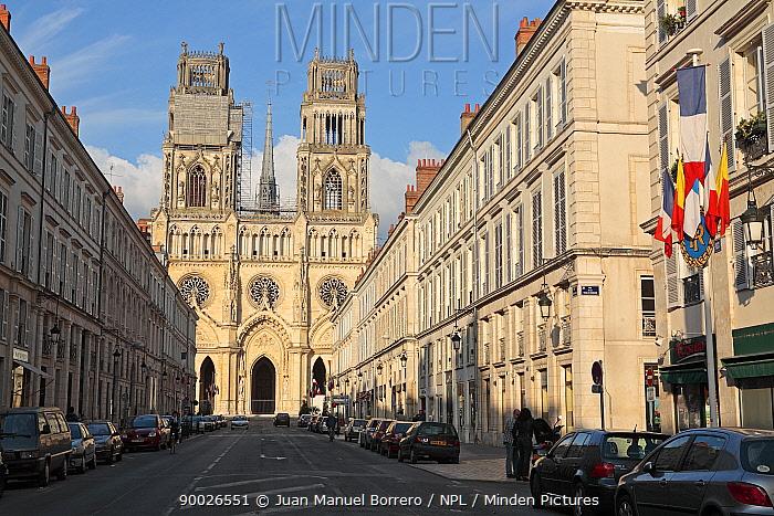 Cathedral of Orleans, France  -  Juan Manuel Borrero/ npl