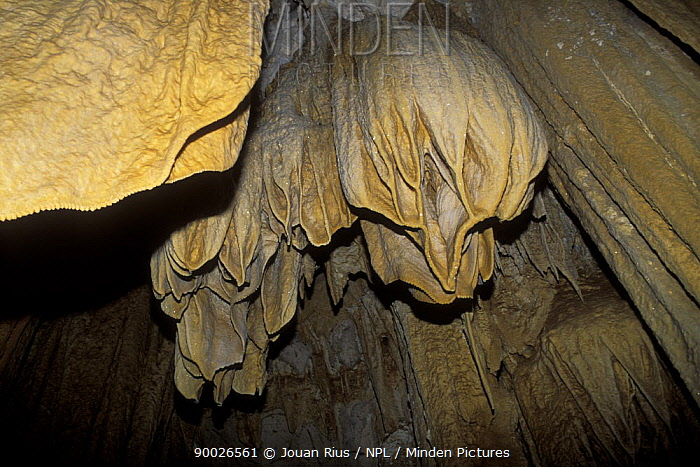 Rock formations in the Andafiabe cave, Ankarana NR, Madagascar  -  Jouan & Rius/ npl