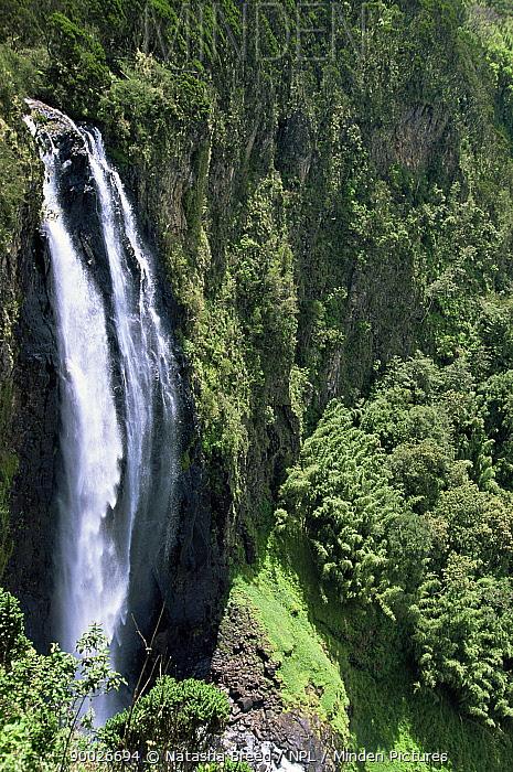 Karuru falls, Aberdares NP, Kenya  -  Natasha Breed/ npl