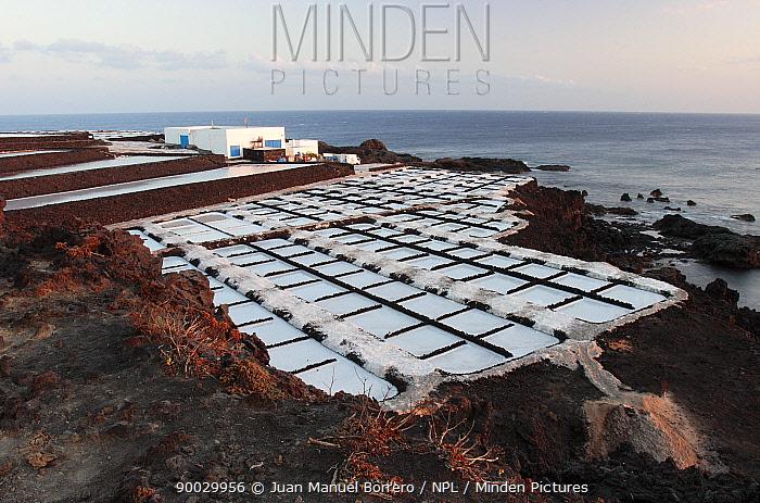 Salt mines of Fuencaliente on La Palma, Canary Islands  -  Juan Manuel Borrero/ npl
