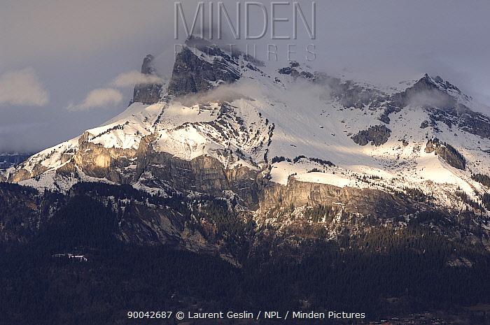 Chaine des Aravis, Alps, France  -  Laurent Geslin/ npl